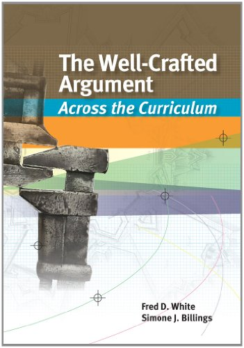 Well-Crafted Argument Across the Curriculum  2013 edition cover