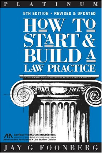 How to Start and Build a Law Practice  5th 2004 edition cover