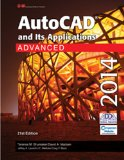 AutoCAD and Its Applications Advanced 2014  21st 2014 edition cover