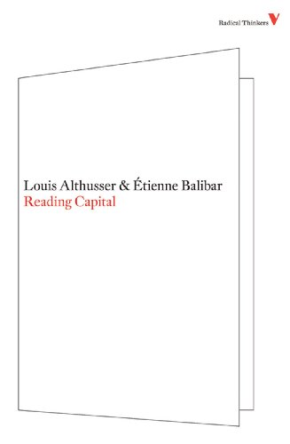 Reading Capital  N/A edition cover