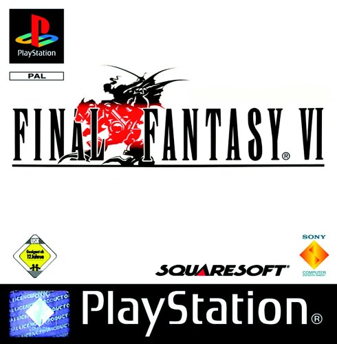 Final Fantasy VI PlayStation artwork