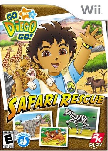 Go Diego Go Safari Rescue - Nintendo Wii Nintendo Wii artwork