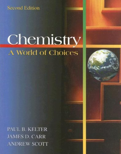 Chemistry A World of Choices 2nd 2003 9780073312477 Front Cover