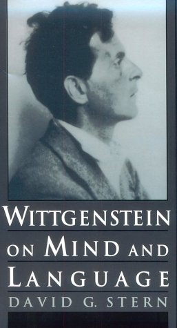 Wittgenstein on Mind and Language   1997 (Reprint) 9780195111477 Front Cover