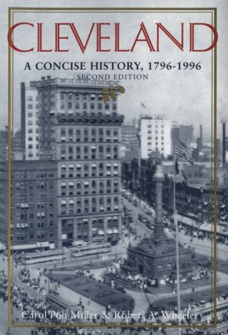 Cleveland A Concise History, 1796-1996 2nd 1997 edition cover