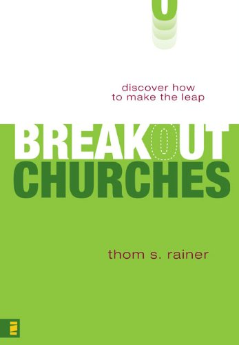 Breakout Churches Discover How to Make the Leap N/A edition cover