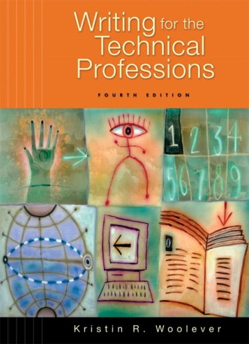 Writing for the Technical Professions  4th 2008 edition cover