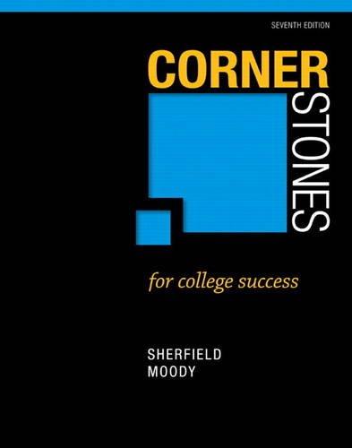 Corner Stone for College Success  7th 2014 edition cover