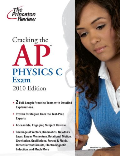 Physics C Exam 2010  N/A 9780375429477 Front Cover