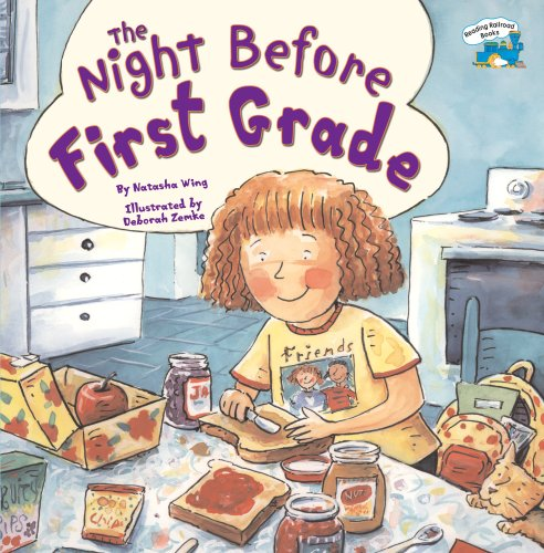 Night Before First Grade   2005 edition cover