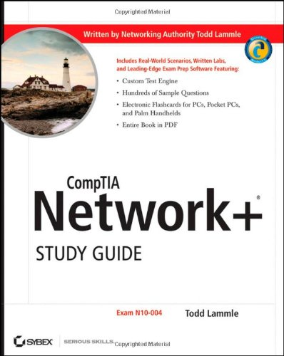 Comptia Network+ Exam N10-004  2009 (Student Manual, Study Guide, etc.) 9780470427477 Front Cover