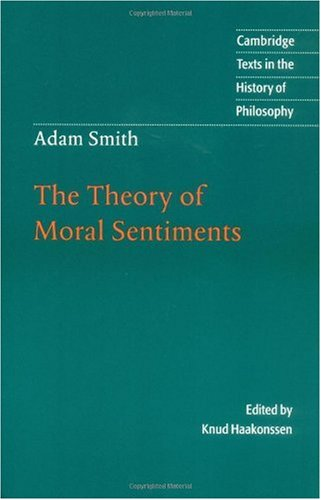 Adam Smith The Theory of Moral Sentiments  2001 edition cover