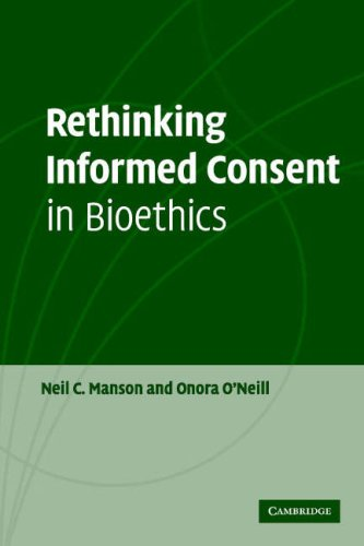 Rethinking Informed Consent in Bioethics   2007 edition cover