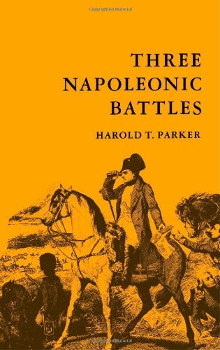 Three Napoleonic Battles  Reprint  edition cover