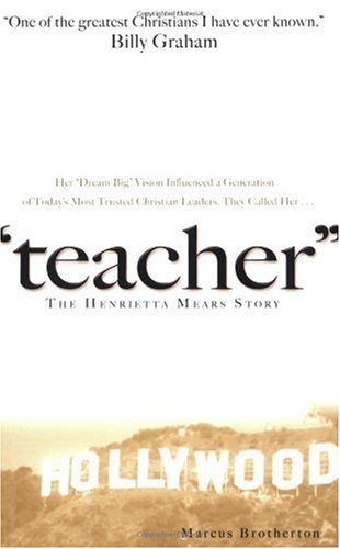 Teacher The Henrietta Mears Story  2006 edition cover
