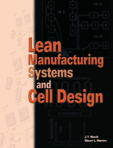 Lean Manufacturing Systems and Cell Design   2003 edition cover