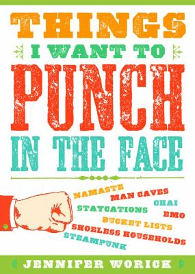 Things I Want to Punch in the Face   2012 edition cover