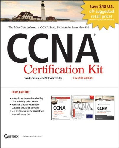 CCNA Certification Kit, Exam 640-802  7th 2011 9781118063477 Front Cover