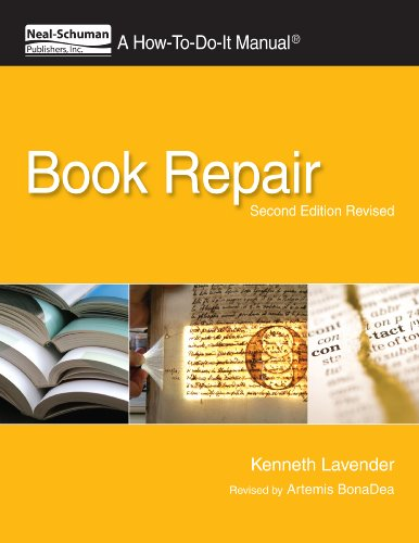 Book Repair A How-To-Do-It Manual 2nd 2011 edition cover