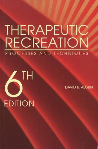 Therapeutic Recreation Processes and Techniques  2015 edition cover