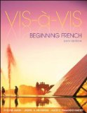 Vis-�-Vis: Beginning French (Student Edition)  6th 2015 (Student Manual, Study Guide, etc.) 9780073386478 Front Cover