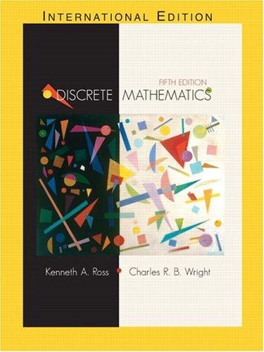 Discrete Mathematics  5th 2003 (Revised) edition cover