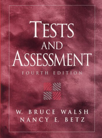 Tests and Assessment  4th 2001 (Revised) edition cover