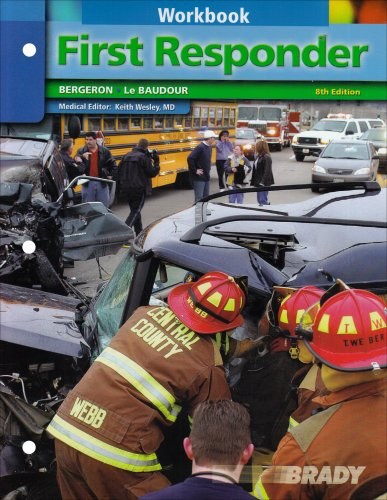 First Responder  8th 2009 (Student Manual, Study Guide, etc.) 9780132447478 Front Cover