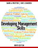 Developing Management Skills  9th 2016 edition cover