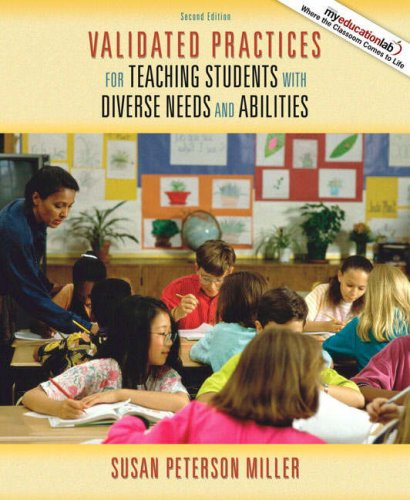 Validated Practices for Teaching Students with Diverse Needs and Abilities  2nd 2009 edition cover