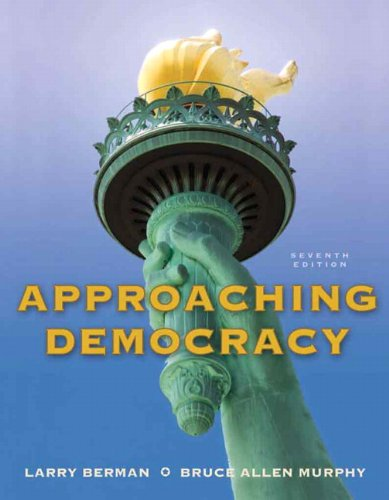 Approaching Democracy  7th 2011 edition cover