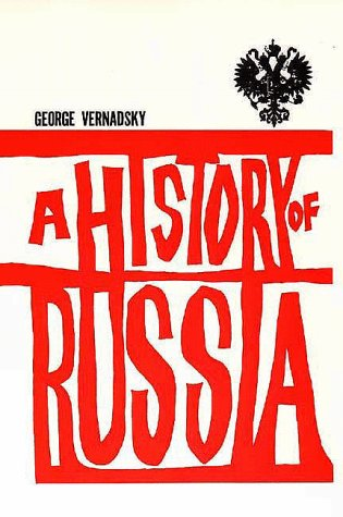 History of Russia  4th (Revised) 9780300002478 Front Cover