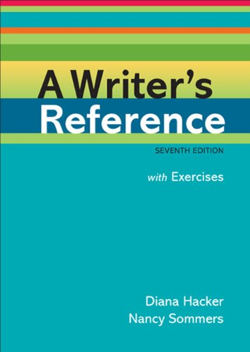 Writer's Reference with Exercises  7th 2011 edition cover