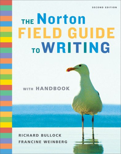 Norton Field Guide to Writing  2nd 2009 (Handbook (Instructor's)) edition cover