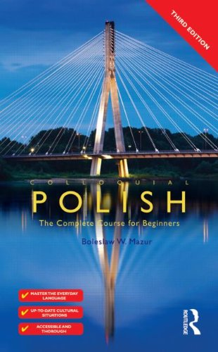 Colloquial Polish The Complete Course for Beginners 3rd 2011 (Revised) edition cover