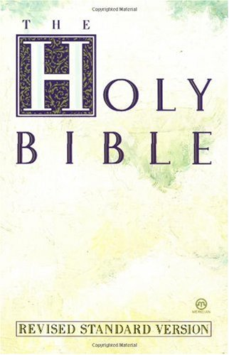 Holy Bible  Revised  edition cover