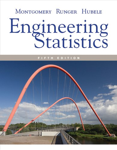 Engineering Statistics  5th 2011 9780470631478 Front Cover