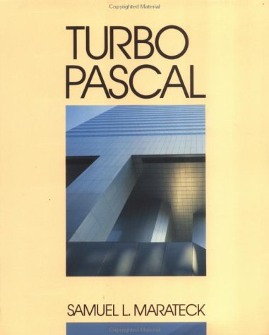 Turbo Pascal   1991 9780471605478 Front Cover