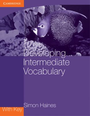 Developing Intermediate Vocabulary with Key   2010 9780521140478 Front Cover