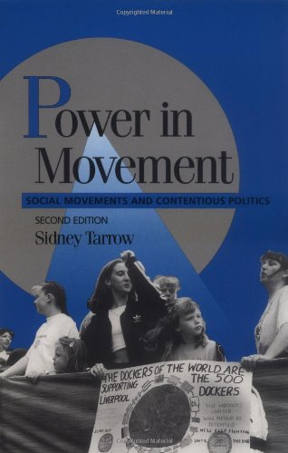 Power in Movement Social Movements and Contentious Politics 2nd 1998 (Revised) edition cover