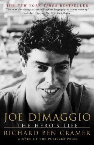 Joe Dimaggio The Hero's Life  2001 (Reprint) edition cover