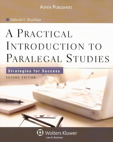 Practical Introduction to Paralegal Studies Strategies for Success 2nd 2009 (Revised) edition cover