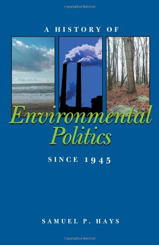History of Environmental Politics since 1945   2000 edition cover
