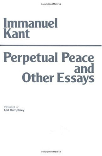 Perpetual Peace and Other Essays  N/A edition cover