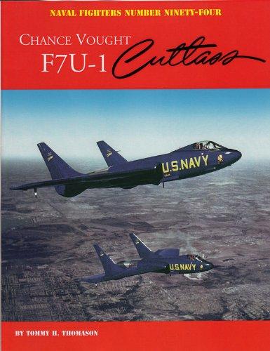 Chance Vought F7U-1 Cutlass:   2012 edition cover