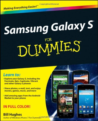 Samsung Galaxy S for Dummies   2011 9781118024478 Front Cover