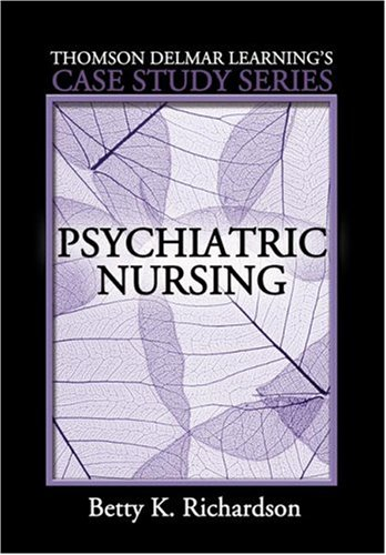 Psychiatric Nursing   2007 9781401838478 Front Cover
