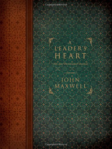 Leader's Heart 365-Day Devotional Journal  2010 edition cover