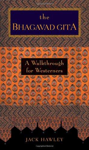 Bhagavad Gita A Walkthrough for Westerners  2001 edition cover