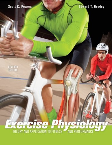 Exercise Physiology Theory and Application to Fitness and Performance 7th 2009 edition cover